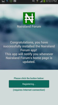 screenshot of Nairaland app