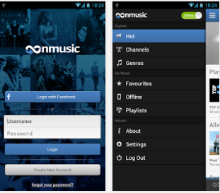 nMusic android app