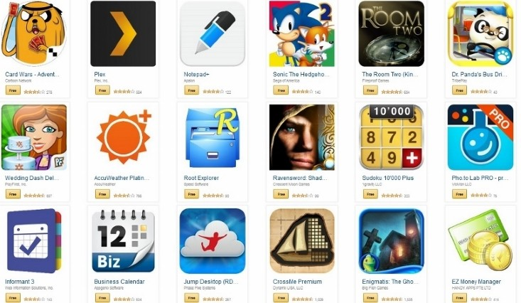 Amazon app store freebies