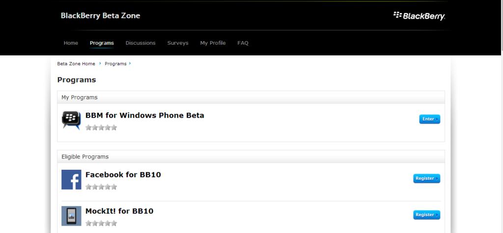 bbm beta zone reg