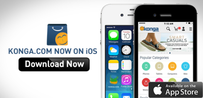 download Konga app for iOS