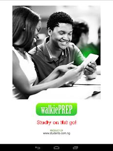 walkieprep jamb cbt application
