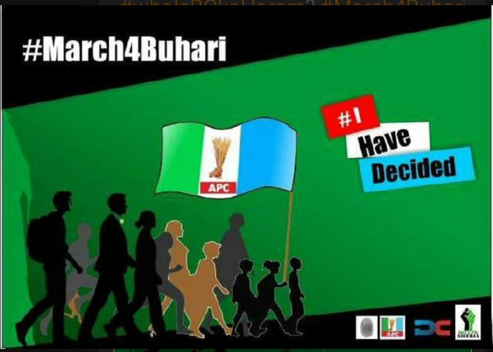 #March4Buhari