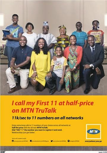 MTN tru talk family and friends