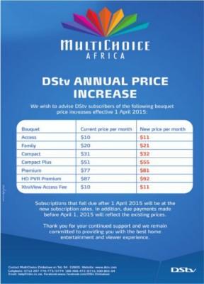 dtsv price increase 2015