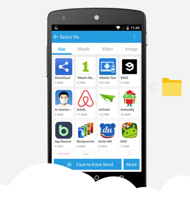 Shareapps app for android
