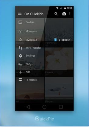 quickpic gallerry app