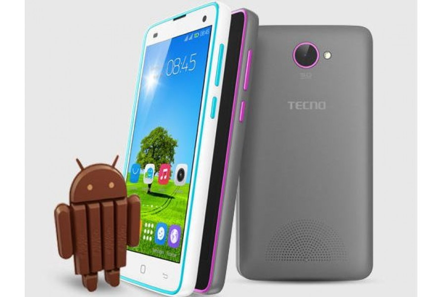 Image of Tecno y6 android phone