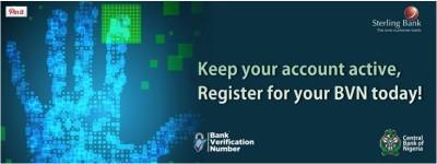 bank verification number sterling bank