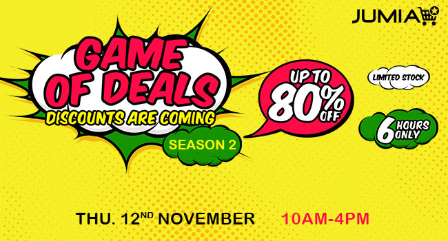 Jumia deal of games