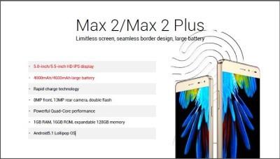 innjoo max series phones