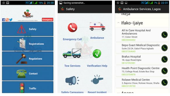 my frsc mobile app for traffic etc