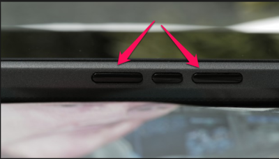 blackberry leap side buttons
