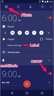set alarm on infinix hot 2 x510