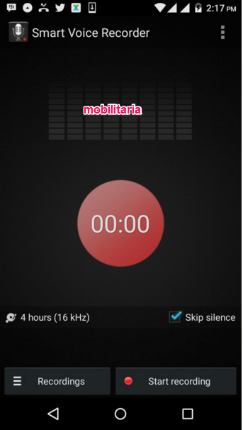 sound recorder for infinix hot 2