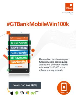 Win cash money from GTBank
