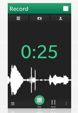 parrot voice recorder app for blackberry