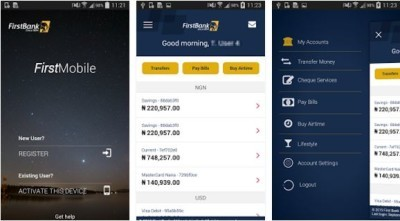 first mobile app download by firstbank nigeria