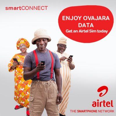Airtel Smart connect 2.0 code tariff bonuses