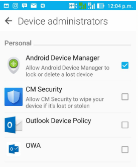 Android Device Administrator Examples – Mobilitaria