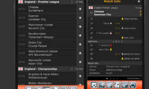 livescore app for android