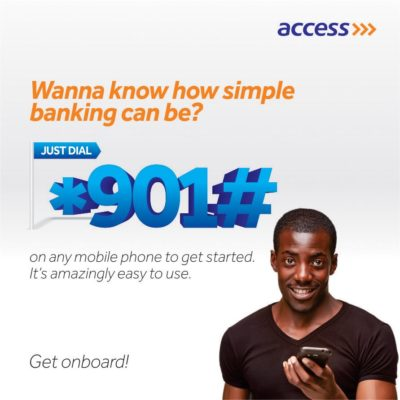 access bank account balance check code