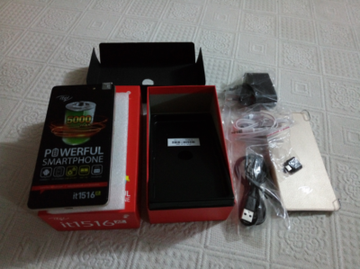 itel it1516 plus unboxing image