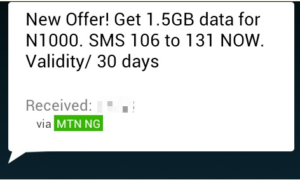 mtn 1.5gb data plan