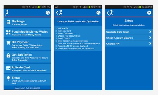 quickteller classic app for money transfer, pay bills