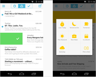 Mailbox app for Android