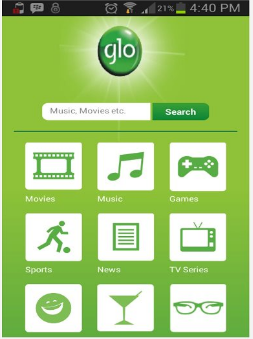 Glo_entertainment_app