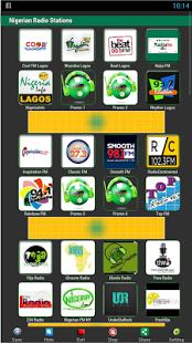 Nigerian radio stations app