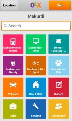 olx mobile app