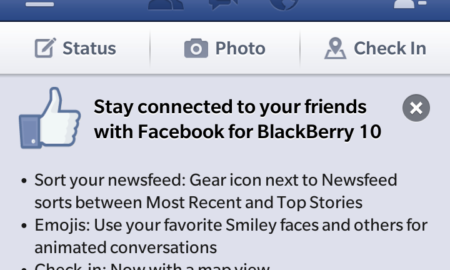 facebook for bb10