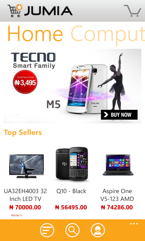 Jumia for WIndows Phone