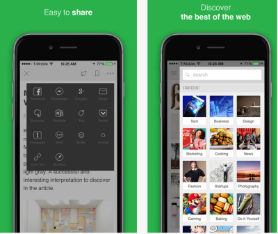feedly for iPhone
