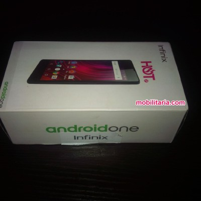 photo of infinix hot 2 x510 in a box
