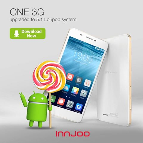 innjoo one android lollipop 5.1