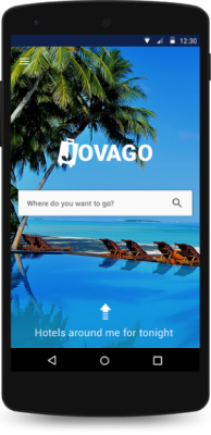 jovago hotel booking app for Android