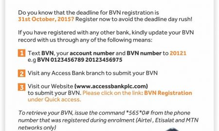 link bvn to access bank account