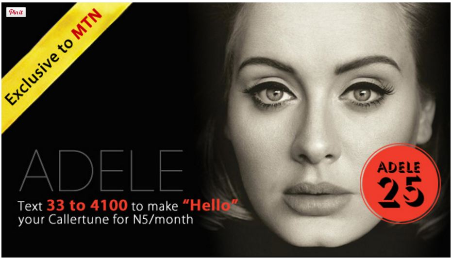 hello by adele mtn caller tune download