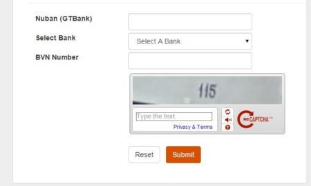 gtbank bvn linker form