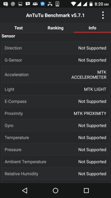 Antutu score for infinix hot 2 x510