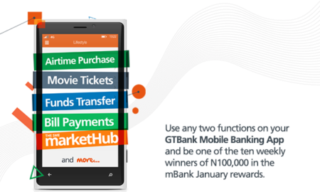 Win cash money from GTBank