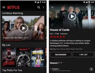 netflix app for iphone android