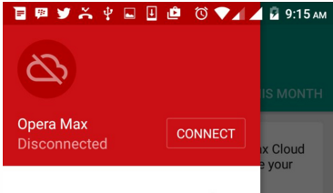 opera max connect vpn