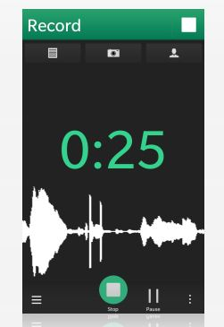 parrot voice recorder app for blackberry