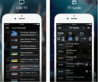 dstv now mobile app