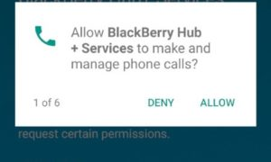 downlload blackberry hub for android