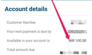 check dstv account balance